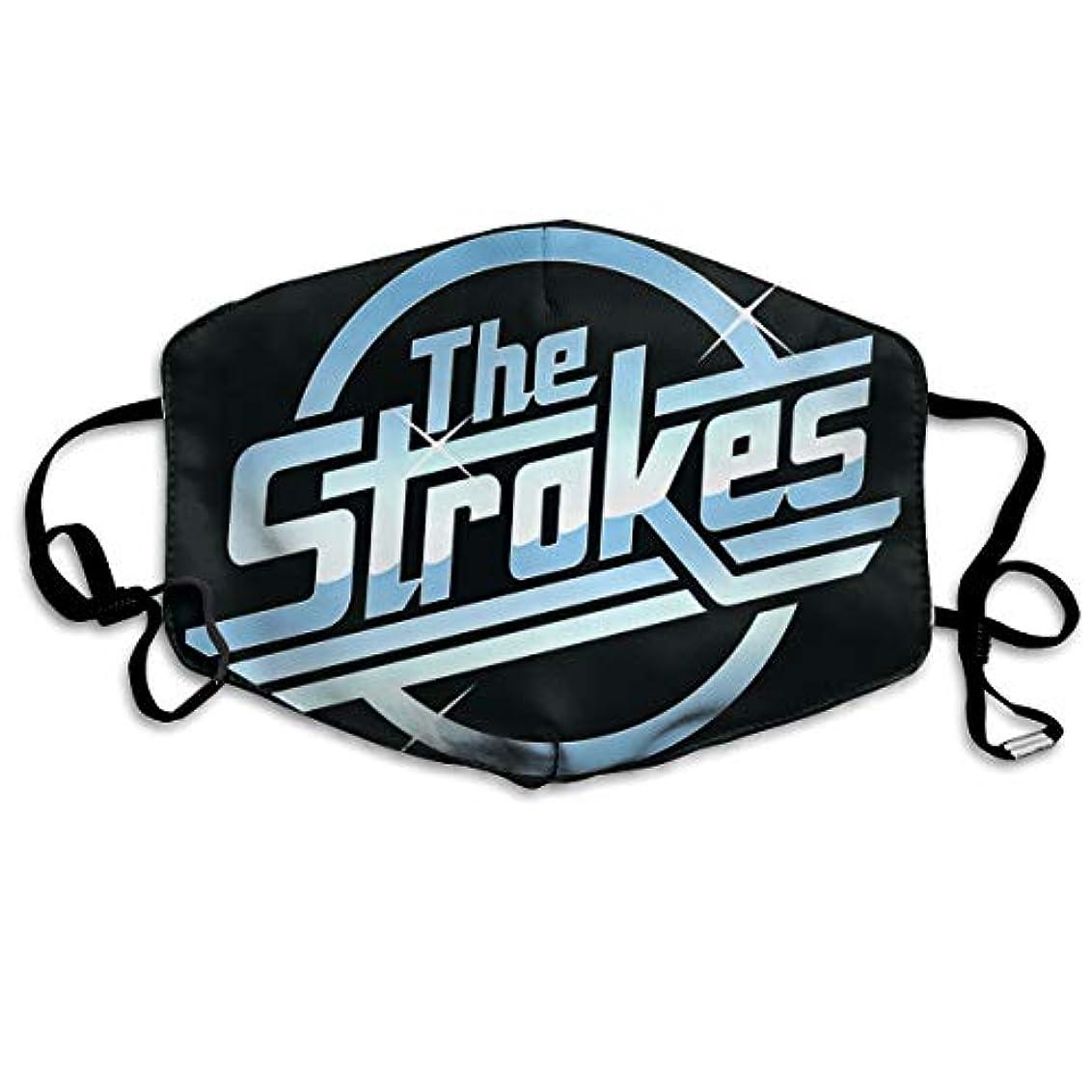 ラグ警報グリースマスク 男のマスク 女性のマスク The Strokes 病気を防ぐ、風邪を予防する、インフルエンザの季節性風邪を予防する、口と鼻を保護する、パーソナライズドマスク