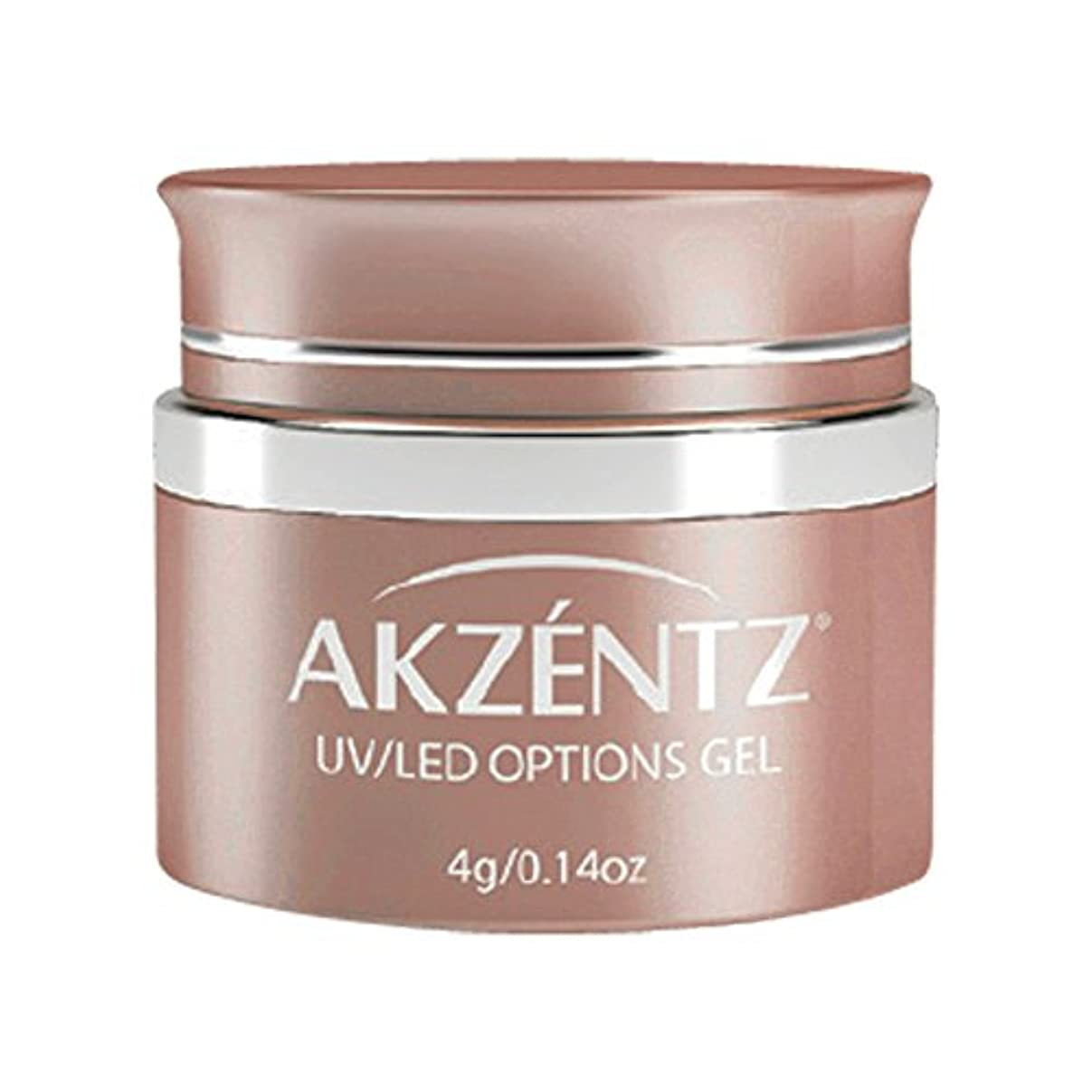 普通にお願いします裸AKZENTZ カラージェル UL 717 スパークルオーロラアプリコット 4g UV/LED対応