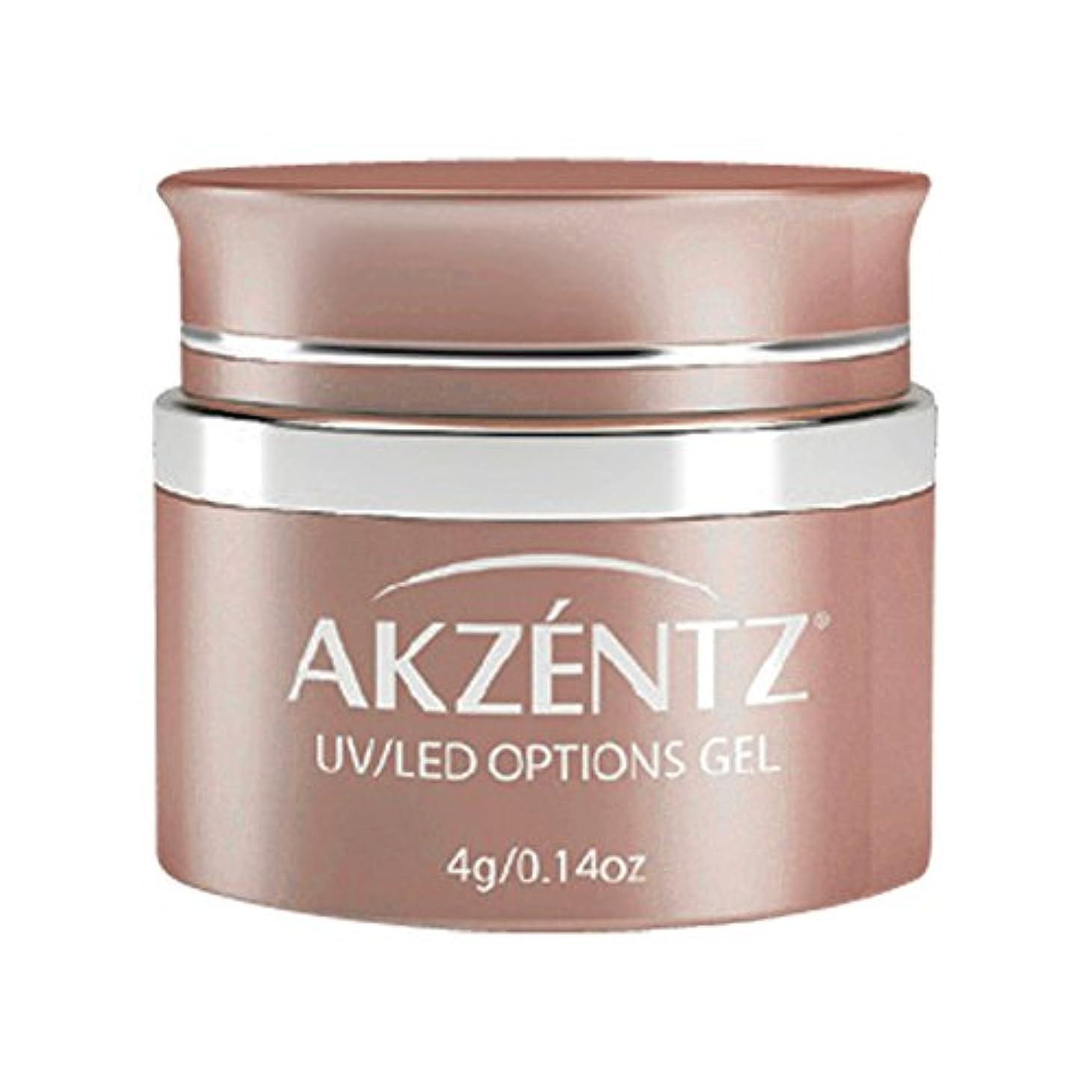 抜本的な涙定期的にAKZENTZ カラージェル UL 011 ブラッシュアビット 4g UV/LED対応