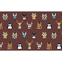 人格漫画の動物、リビングルームのソファテレビ壁寝室3 d壁壁画壁紙280 cm(W)x 180 cm(H)