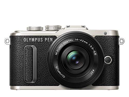 OLYMPUS ミラーレス一眼 E-PL8 レンズキット ブラック