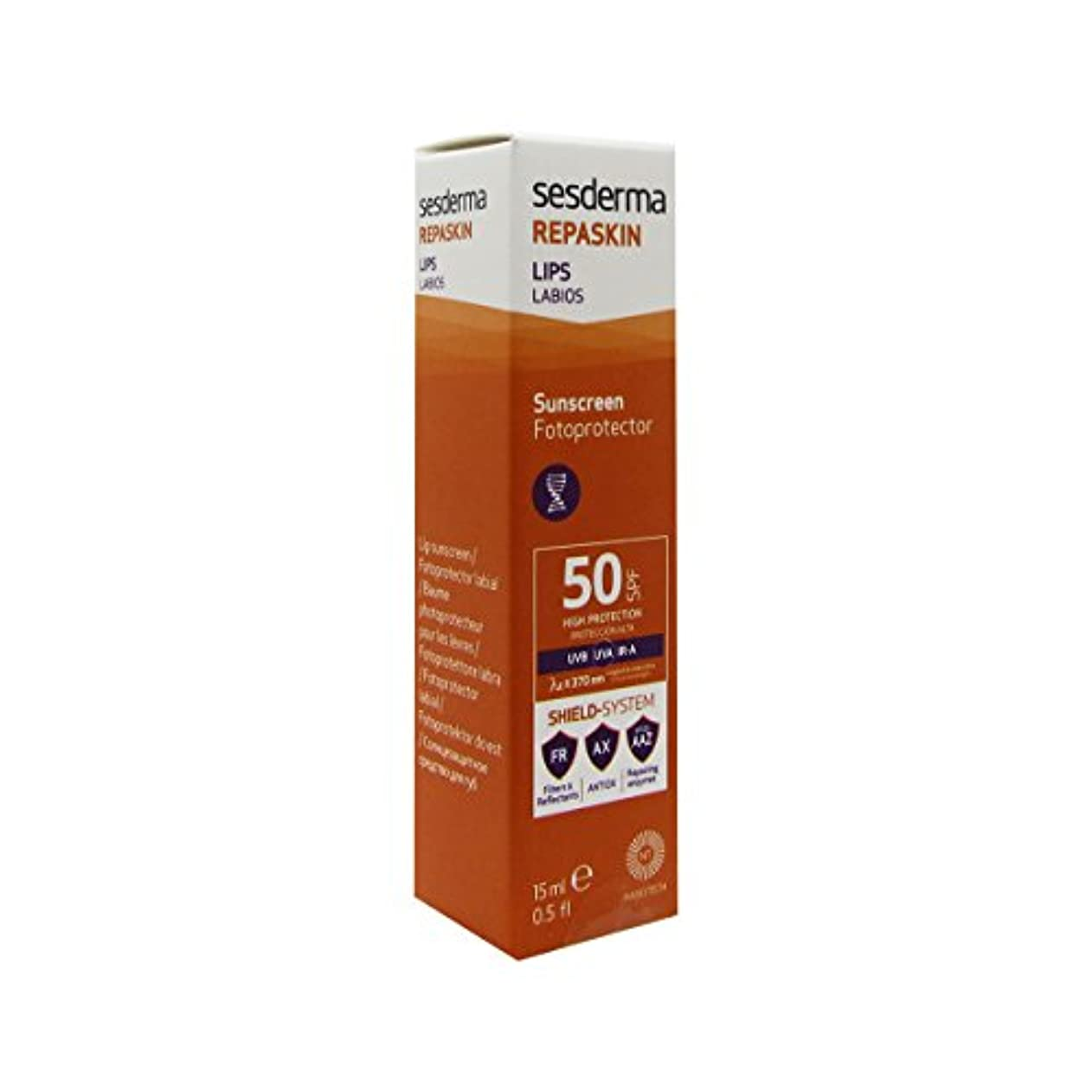 チロほこりポーズSesderma Repaskin Lips Spf50 15ml [並行輸入品]