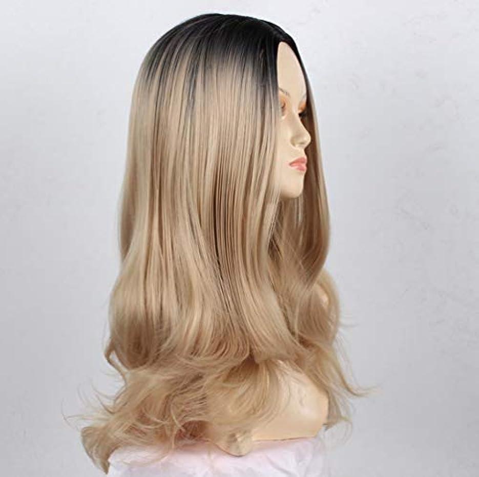 新しいファッションウィッグブラジルロングナチュラル波状合成女性かつらコスプレ衣装ファンシードレスパーティー