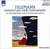 テレマン:様々な楽器のための協奏曲集 画像