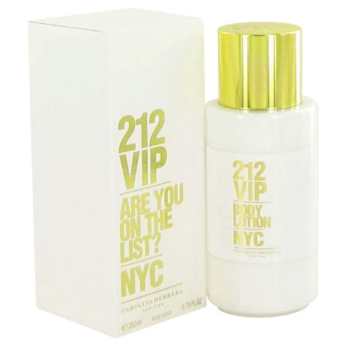 温度ばかげた例212 Vip Body Lotion By Carolina Herrera