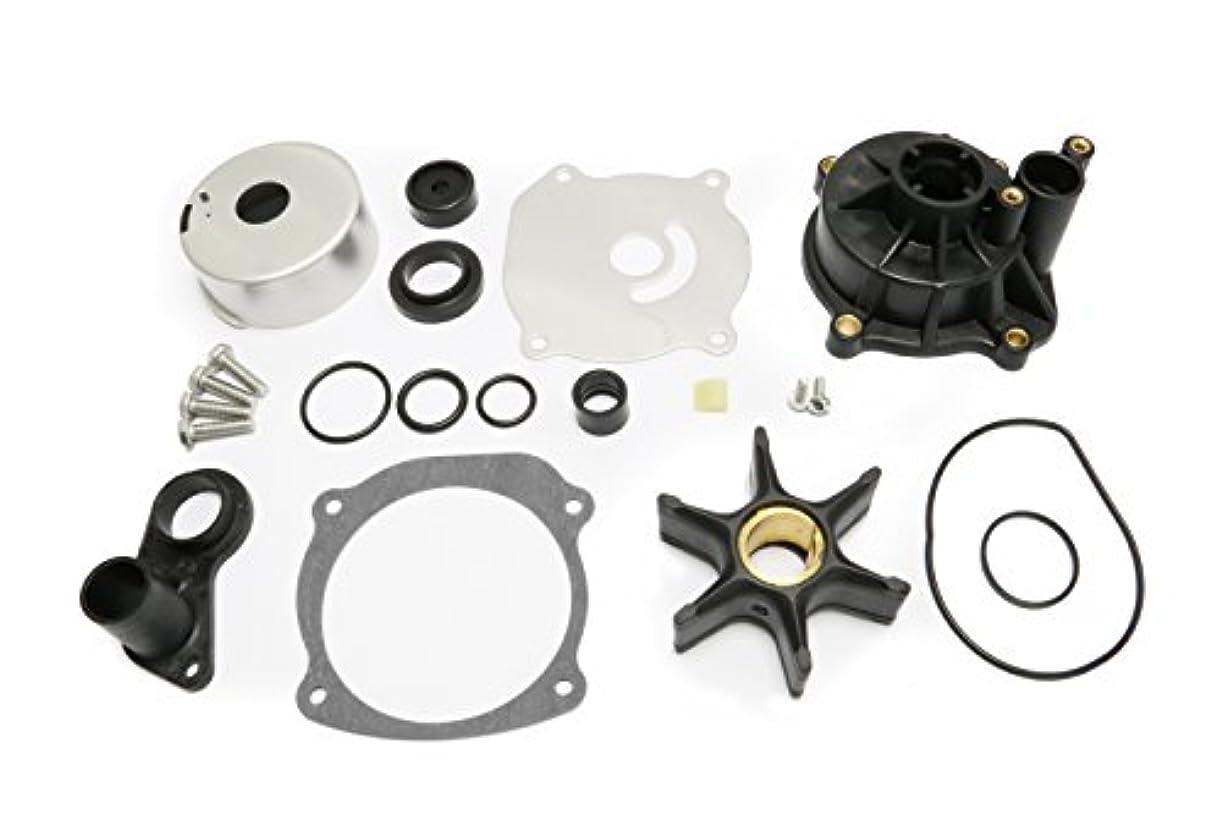 クランシー国民投票吹雪Johnson Evinrude V4 V6 V8 85-300HP用ハウジング付ウォーターポンプ修理キットアウトボードモーター部品インペラー交換5001594