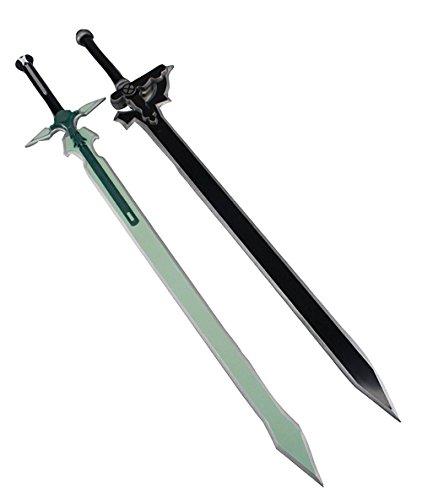 Kiumi コスプレ 道具 武器 樹脂製 エリュシデータ風 ダークリパルサー風 79cm 2点セット 西洋剣