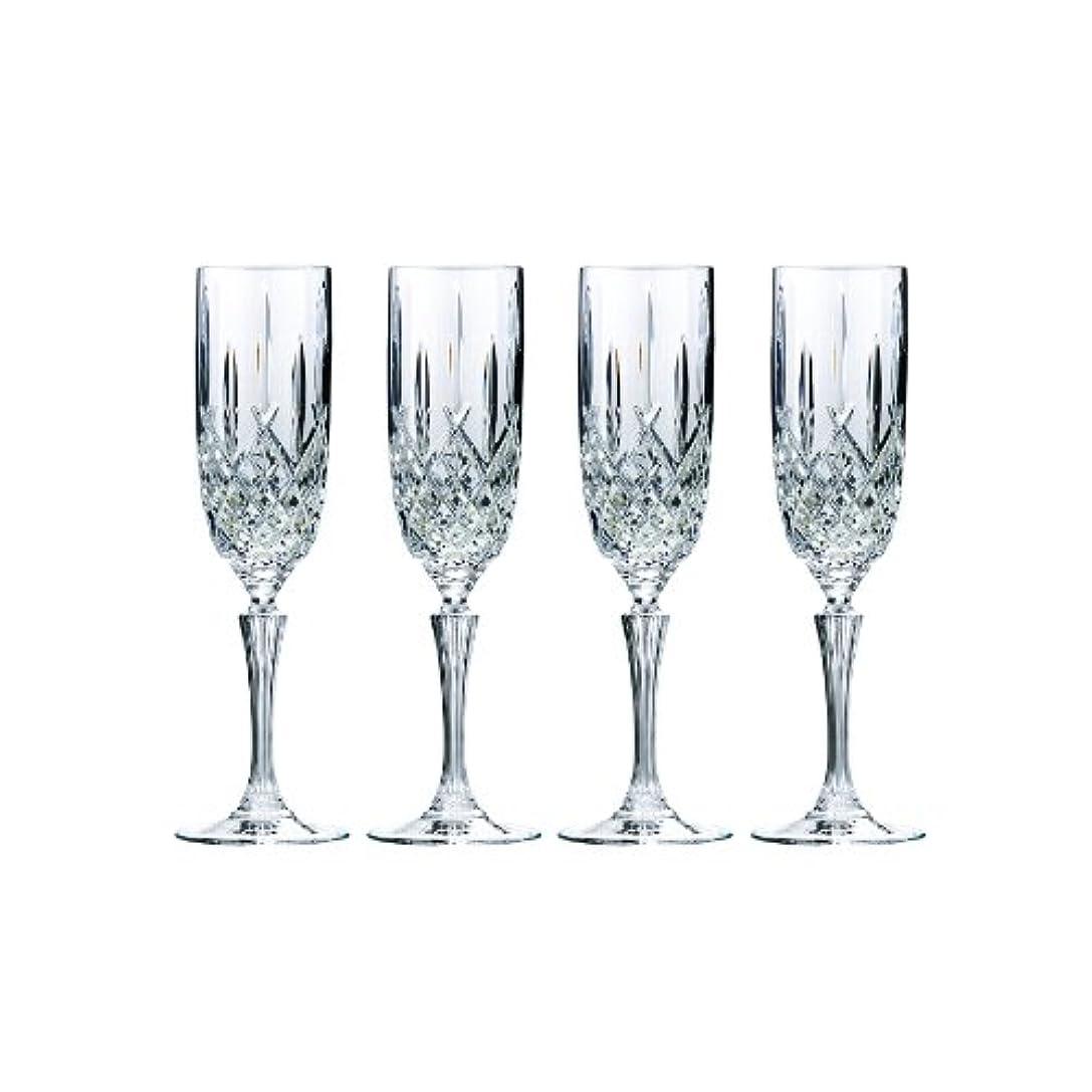 超音速フィドル冗談でMarquis by Waterford Markham Champagne Flute, Set of 4 by Marquis By Waterford