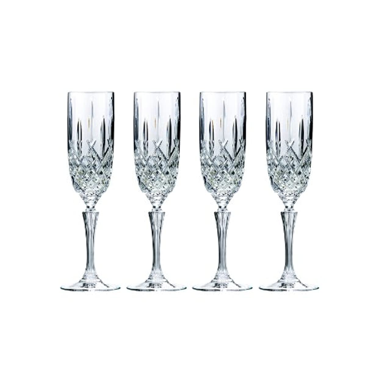 定数フローティング一緒にMarquis by Waterford Markham Champagne Flute, Set of 4 by Marquis By Waterford
