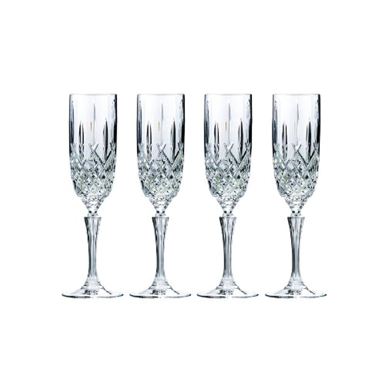 聖人学習戦略Marquis by Waterford Markham Champagne Flute, Set of 4 by Marquis By Waterford