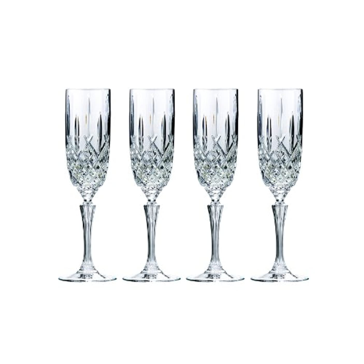 知覚的社員一時的Marquis by Waterford Markham Champagne Flute, Set of 4 by Marquis By Waterford
