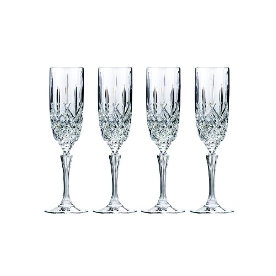 忘れっぽい死保証金Marquis by Waterford Markham Champagne Flute, Set of 4 by Marquis By Waterford