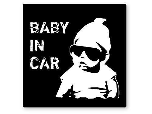 「赤ちゃんが乗っています」ステッカーは必要?本当の意味は?