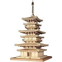 ウッディジョー 1/75 薬師寺 東塔 木製模型 組立キット