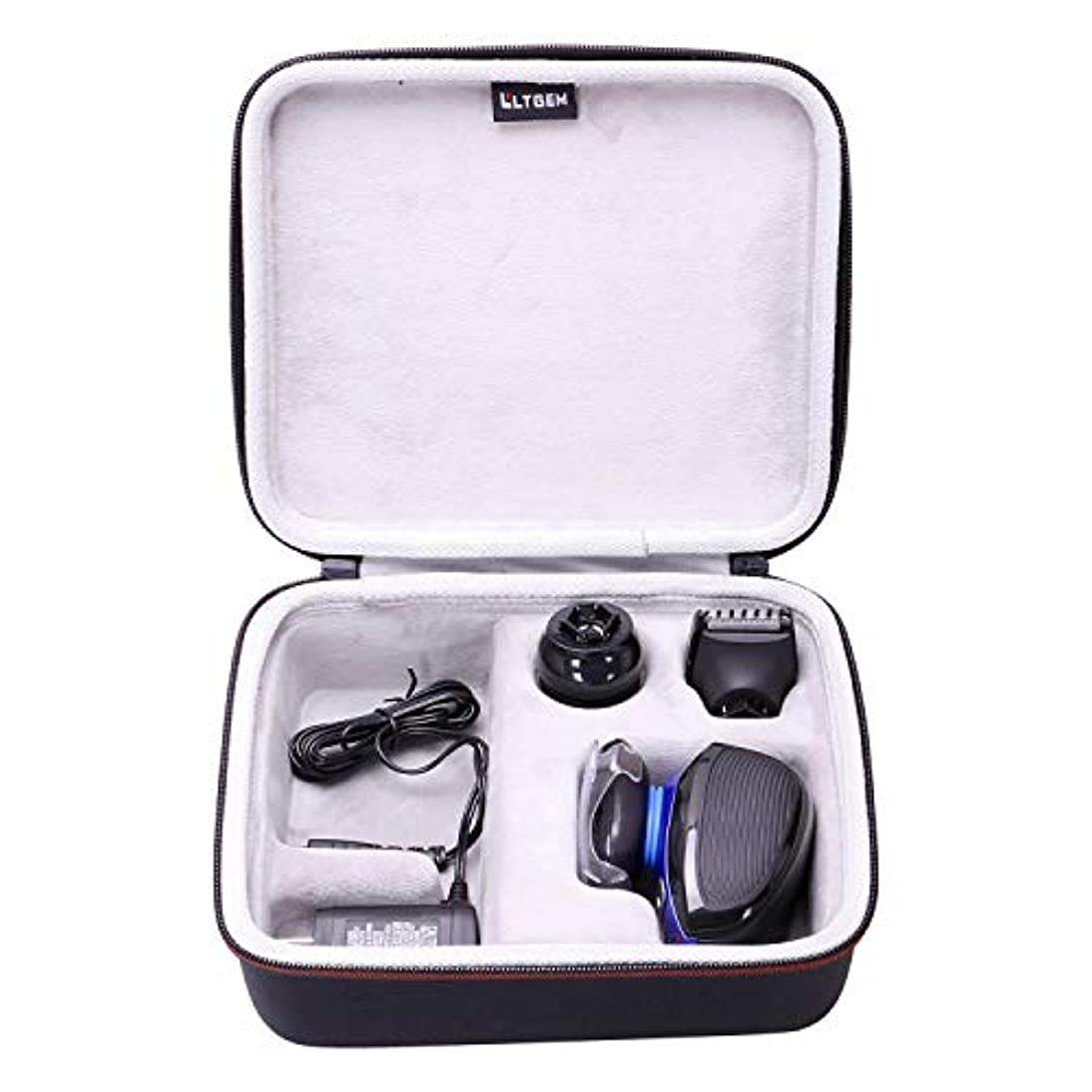 ユニークな古風な故意にLTGEM Hard Case for Remington XR1400 Verso Wet & Dry Men's Electric Razor Shaver & Trimmer Grooming Kit 141[並行輸入]