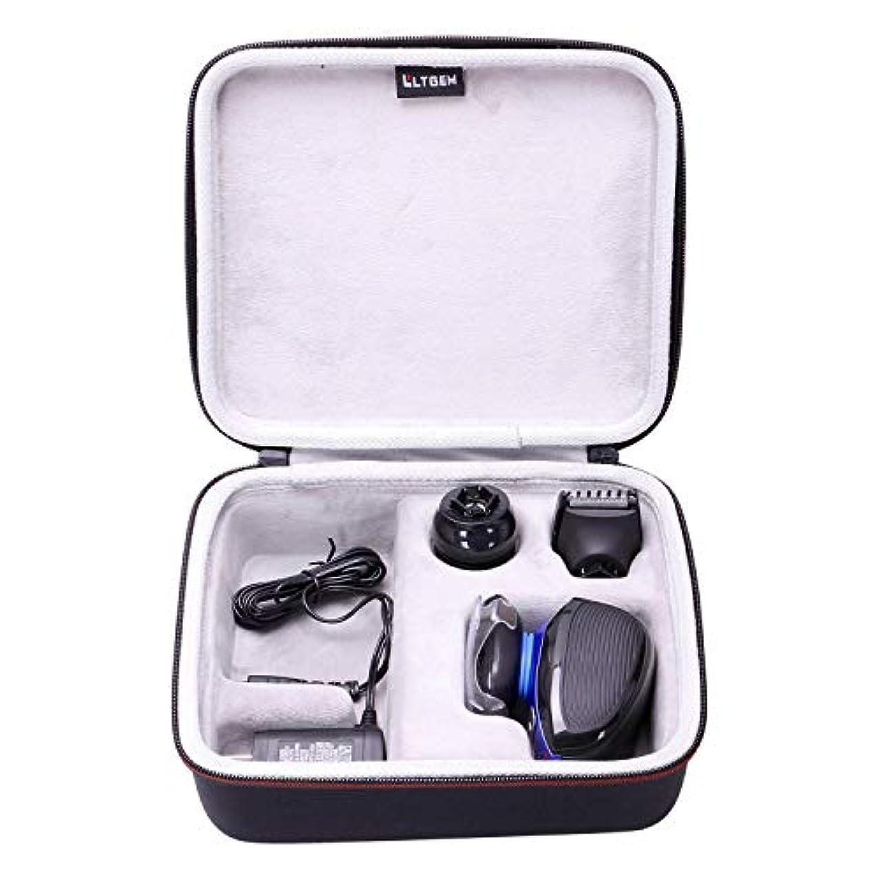 小麦粉人種劇作家LTGEM Hard Case for Remington XR1400 Verso Wet & Dry Men's Electric Razor Shaver & Trimmer Grooming Kit 141[並行輸入]
