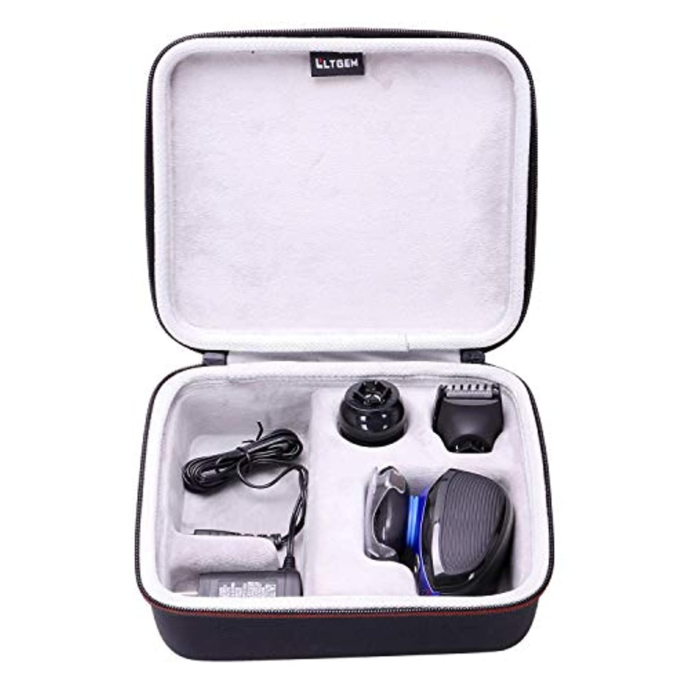 分子テーブルを設定する郊外LTGEM Hard Case for Remington XR1400 Verso Wet & Dry Men's Electric Razor Shaver & Trimmer Grooming Kit 141[並行輸入]