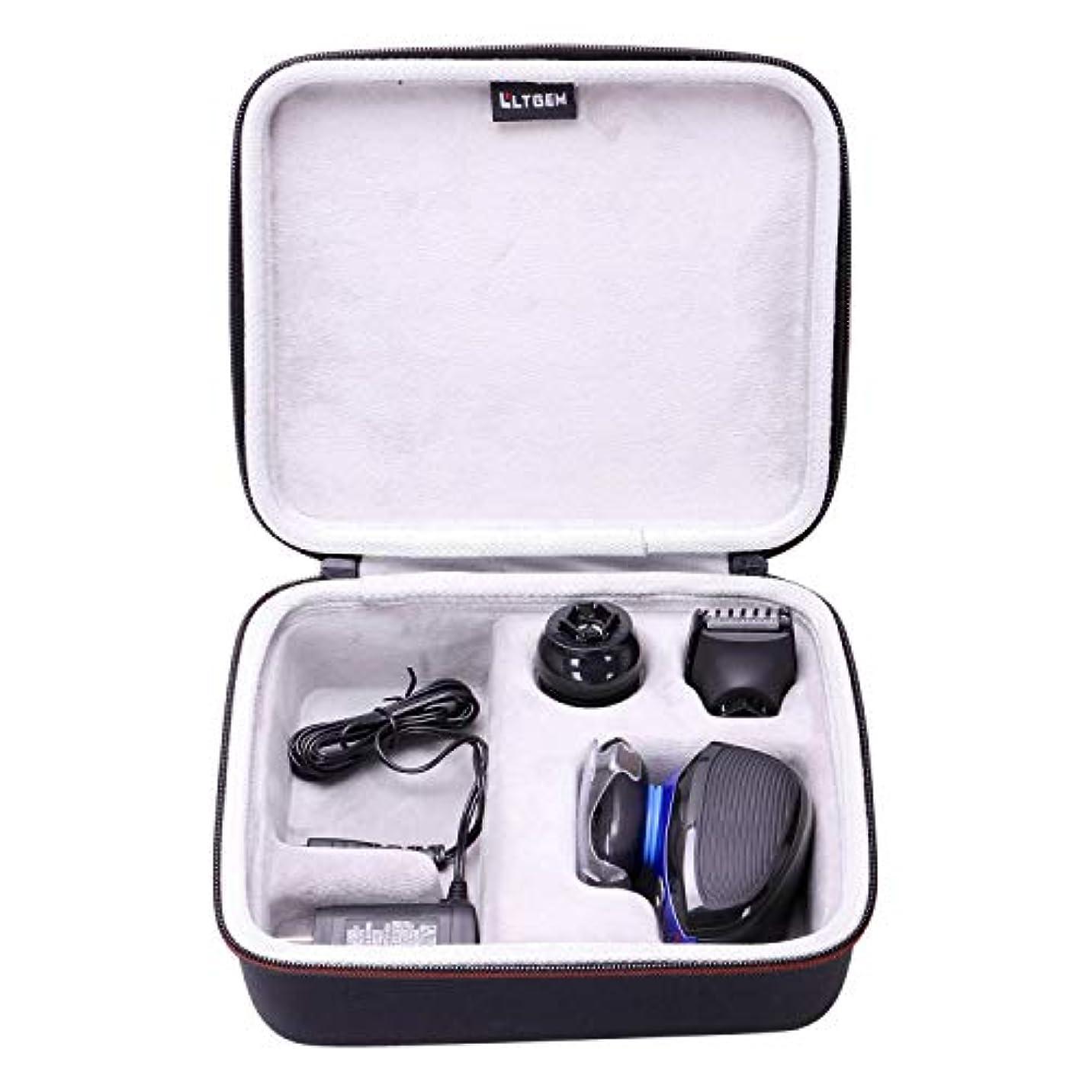 ギャンブル上に協定LTGEM Hard Case for Remington XR1400 Verso Wet & Dry Men's Electric Razor Shaver & Trimmer Grooming Kit 141[並行輸入]