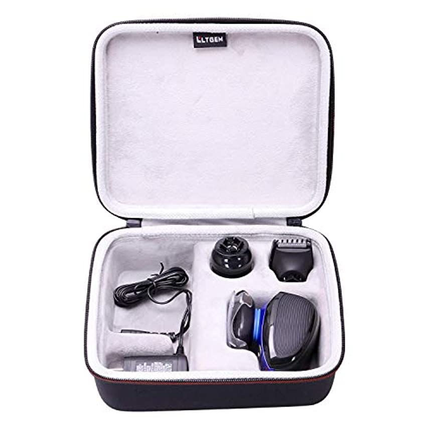 西部乳剤恋人LTGEM Hard Case for Remington XR1400 Verso Wet & Dry Men's Electric Razor Shaver & Trimmer Grooming Kit 141[並行輸入]