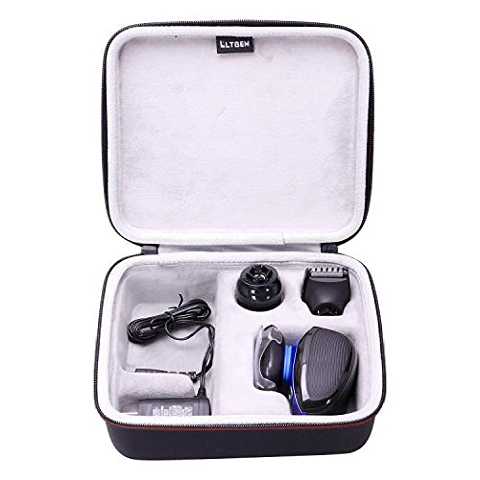 混合したアソシエイト重大LTGEM Hard Case for Remington XR1400 Verso Wet & Dry Men's Electric Razor Shaver & Trimmer Grooming Kit 141[並行輸入]