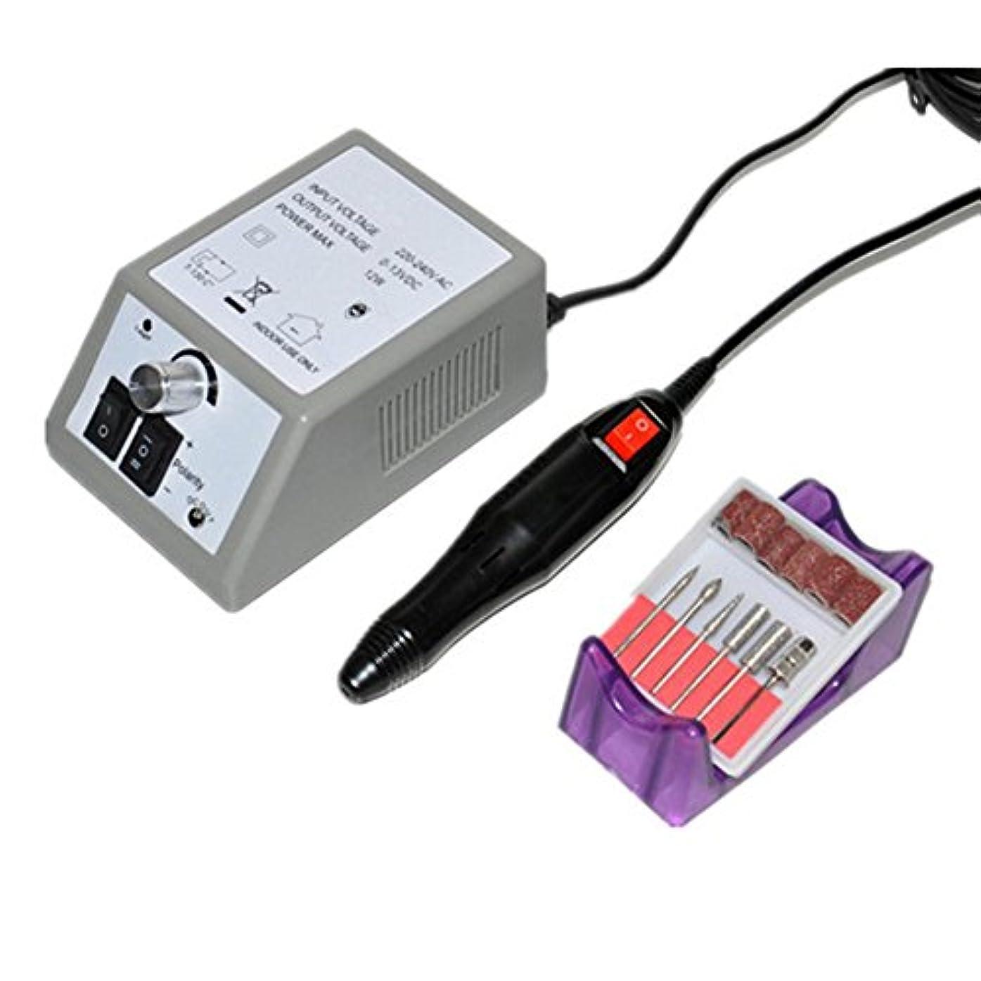 雨不透明なのLiebeye 電子 ネイル ドリル セット マニキュア ペディキュア 研削 バーニング マシン アート ファイルドリル ポリッシャー