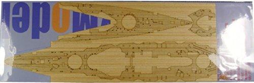 1/350 木製甲板 日本 戦艦 榛名 1944用 [F社用]