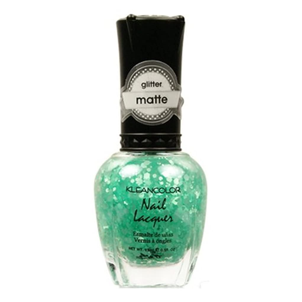 記録平方ショップKLEANCOLOR Glitter Matte Nail Lacquer - On-Off Relationship (並行輸入品)