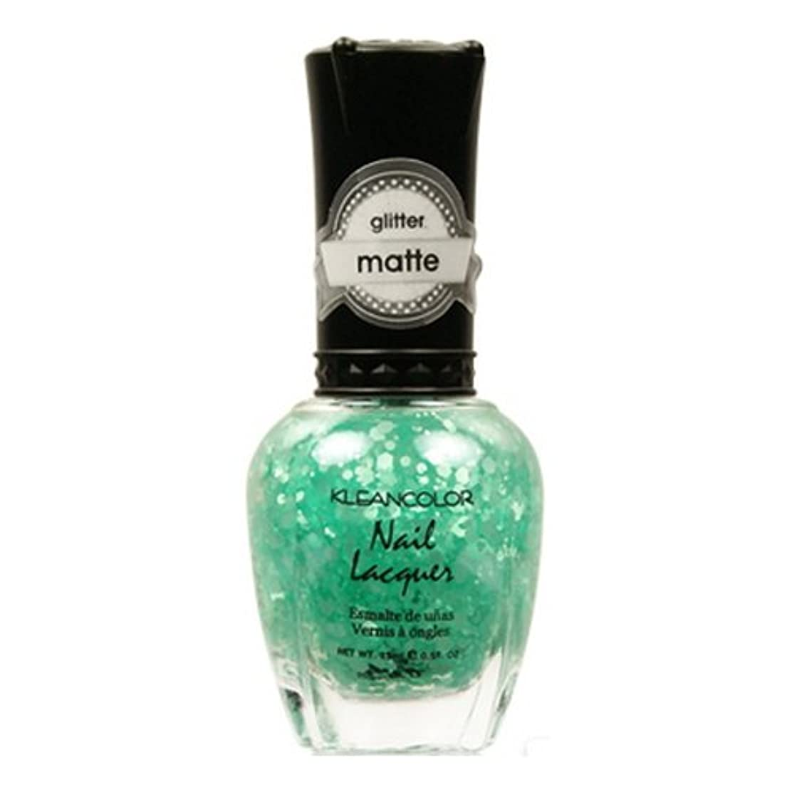 KLEANCOLOR Glitter Matte Nail Lacquer - On-Off Relationship (並行輸入品)