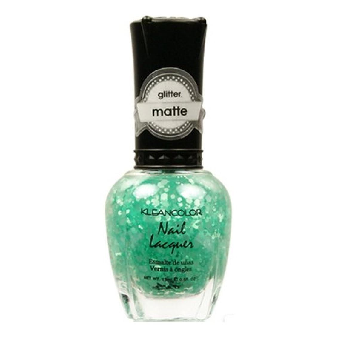 乗算情緒的み(6 Pack) KLEANCOLOR Glitter Matte Nail Lacquer - On-Off Relationship (並行輸入品)