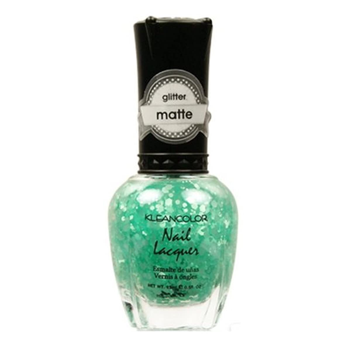 (6 Pack) KLEANCOLOR Glitter Matte Nail Lacquer - On-Off Relationship (並行輸入品)