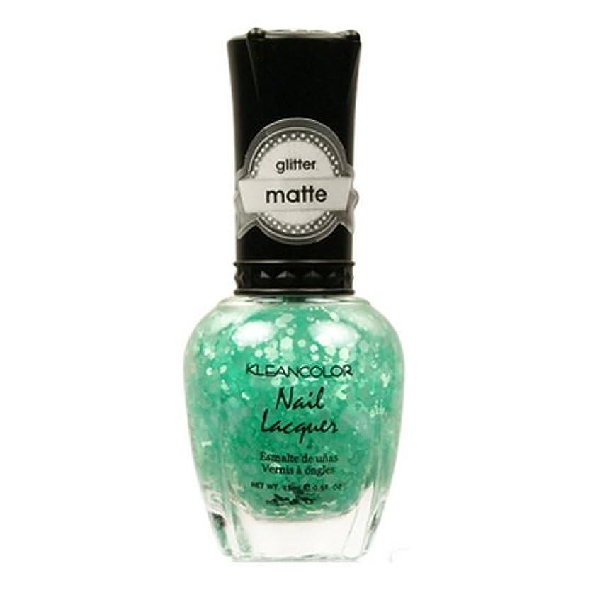 蓄積する混乱させる冷酷な(3 Pack) KLEANCOLOR Glitter Matte Nail Lacquer - On-Off Relationship (並行輸入品)