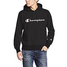 (チャンピオン)Champion(チャンピオン) プルオーバースウェットパーカー C3-J117 090 ブラック L