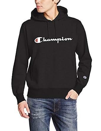 (チャンピオン)Champion プルオーバースウェットパーカー C3-J117 090 ブラック L