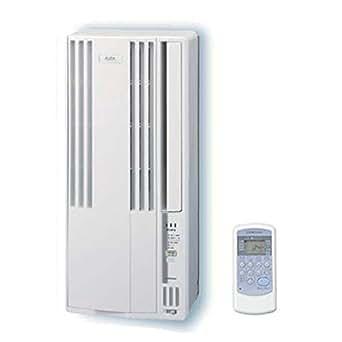 コロナ 窓用エアコン(冷房専用・おもに4~6畳用 シェルホワイト)CORONA CW-A1615-WS