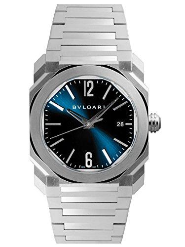 [ブルガリ] BVLGARI 腕時計 オクト ソロテンポ ブルー BGO38C3SSD メンズ 新品 [並行輸入品]