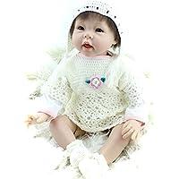 キュートLifelike人形Reborn女の子ベビーReal Looing BabeisシリコンDolls Toys for Kids Toddlers