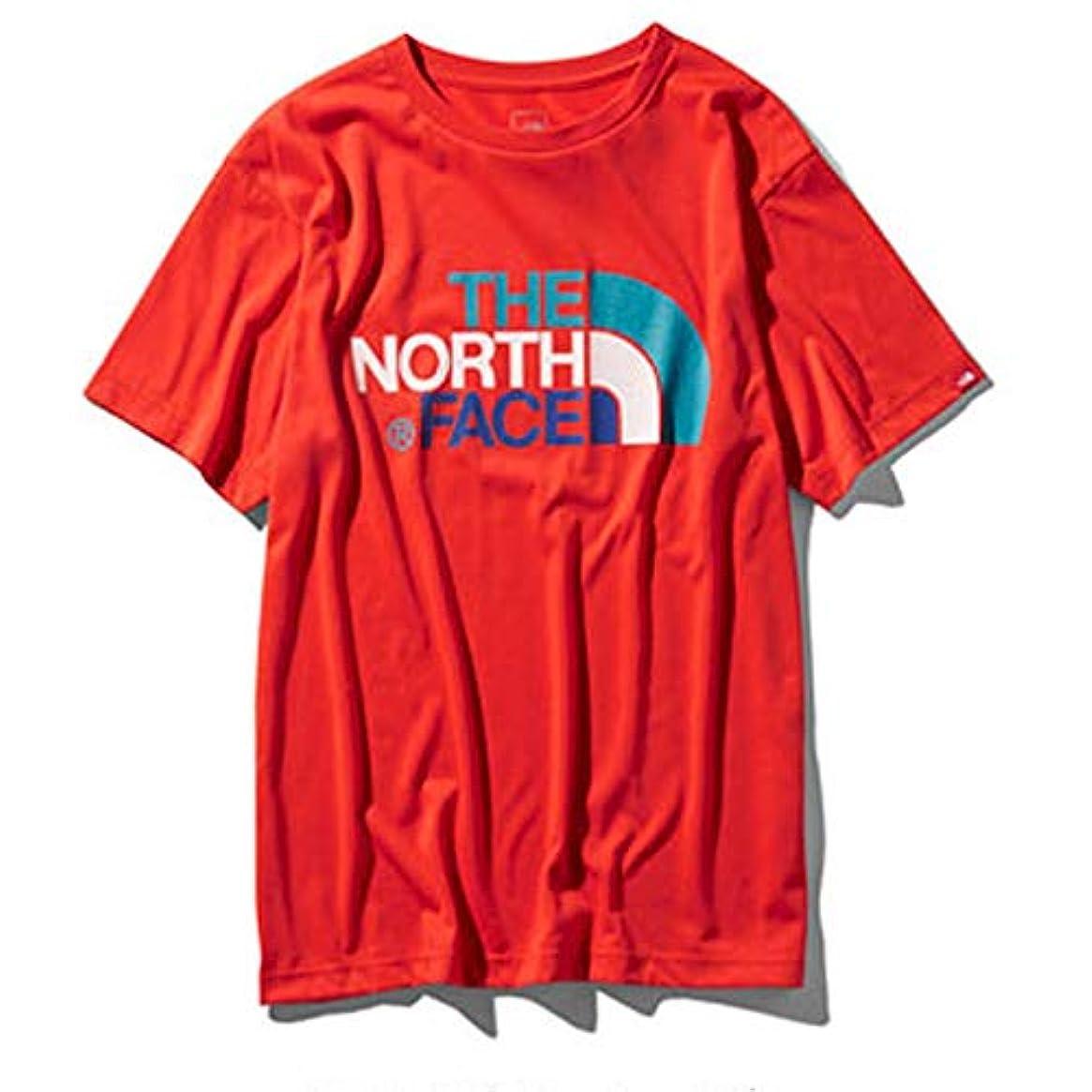 可動遺伝的事THE NORTH FACE ノースフェイス S/S カラフルロゴTee メンズ