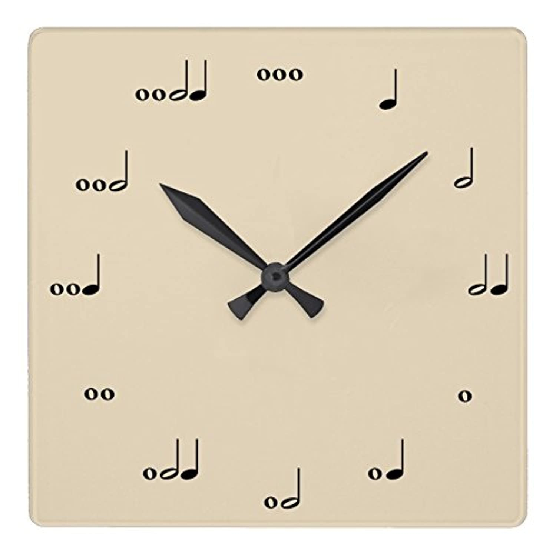 音楽家のための、音符の壁掛け時計:ピクチャークロック(グッドデザインシリーズ) (I) [並行輸入品]