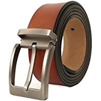 JingHao A23 Belts for Men Genuine Leather Belt for Dress & Jeans Big and Tall Size S-9XL