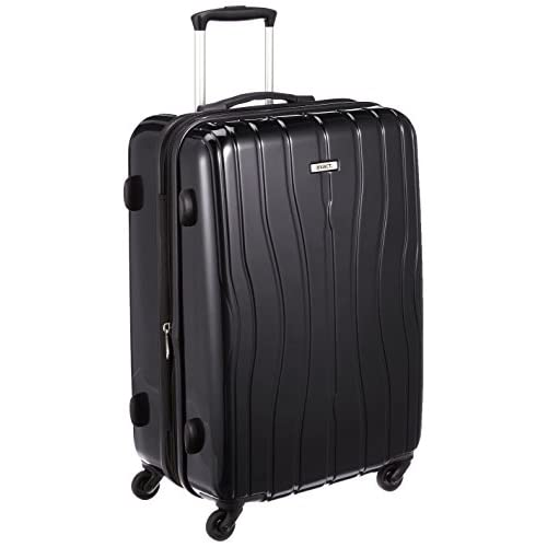 [イグザクト] exact エース スーツケース ディストーション 59cm 66L 4.0kg エキスパンダブル 05895 01 (ブラック)