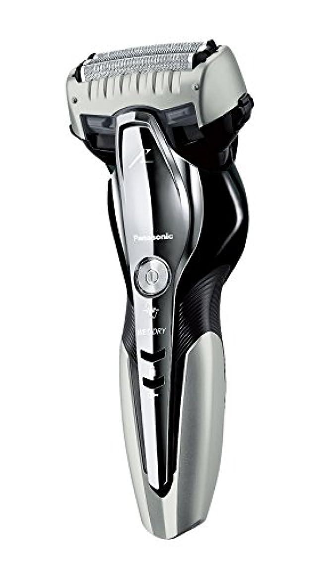 パンダブロッサムライムパナソニック ラムダッシュ メンズシェーバー 3枚刃 お風呂剃り可 シルバー調 ES-CST6Q-S