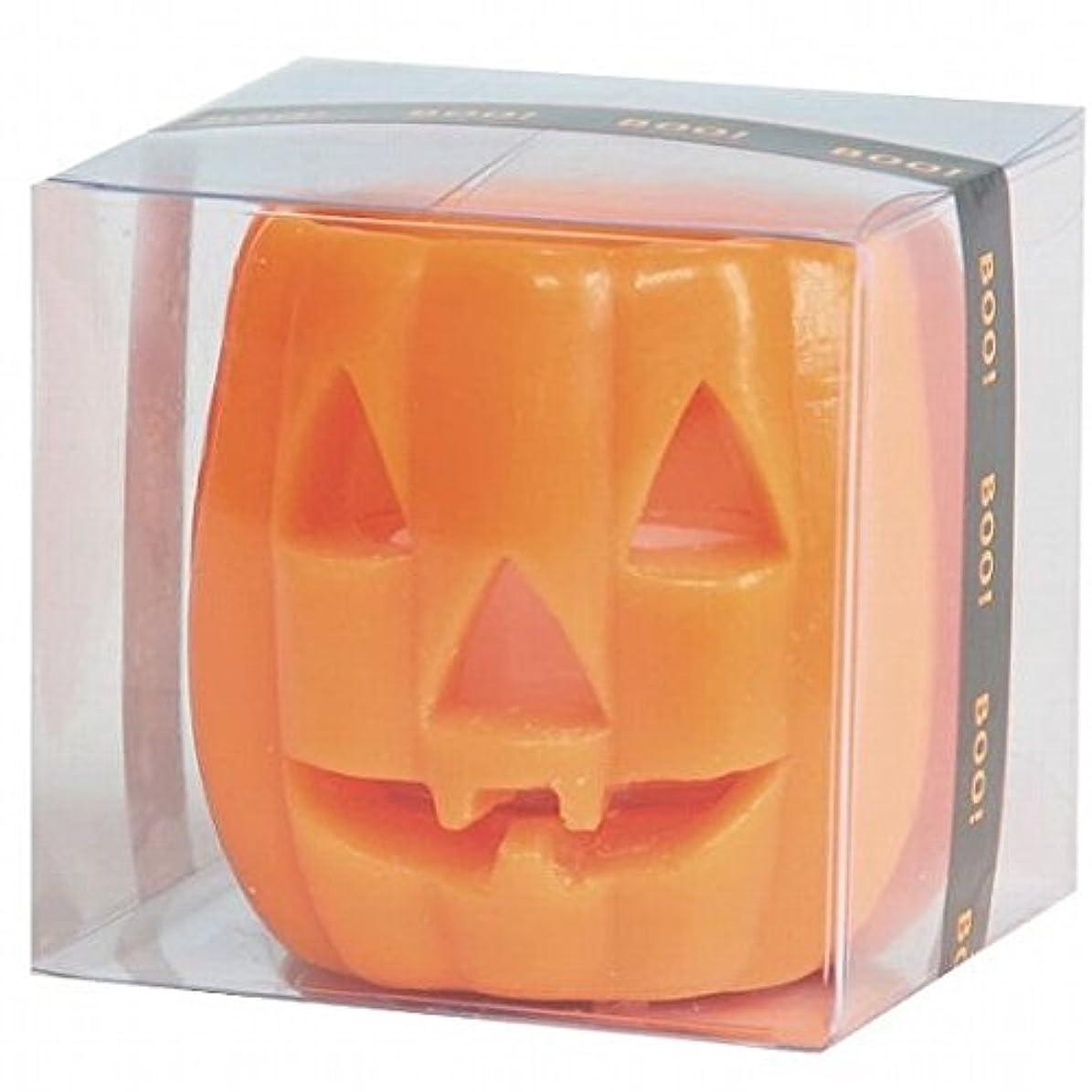 変位先例考えたkameyama candle(カメヤマキャンドル) パンプキンフェイスS 「 オレンジ 」 キャンドル(55860000)