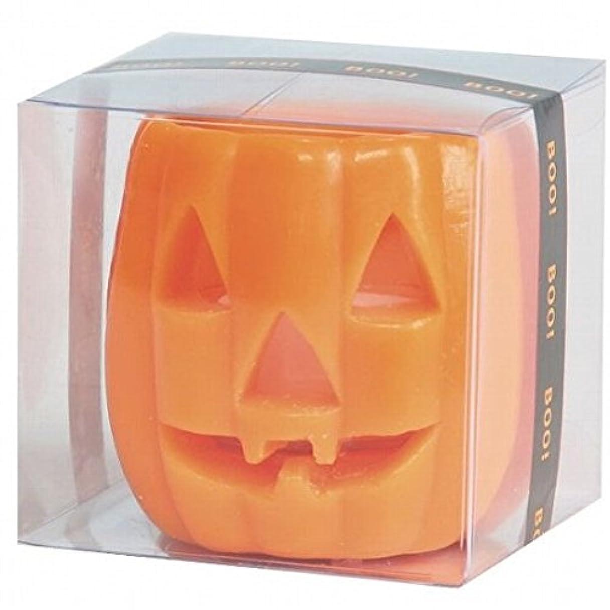 換気するいたずら教科書kameyama candle(カメヤマキャンドル) パンプキンフェイスS 「 オレンジ 」 キャンドル(55860000)