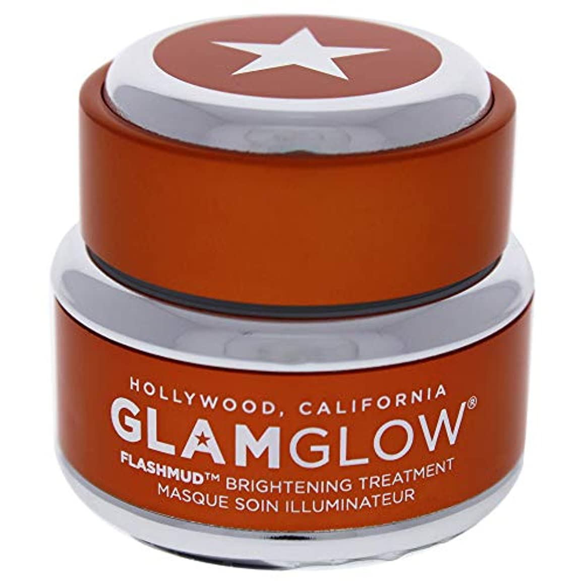大佐仕事切断するGlam Glow Flashmud Brightening Treatment Mask 0.5oz (15ml)