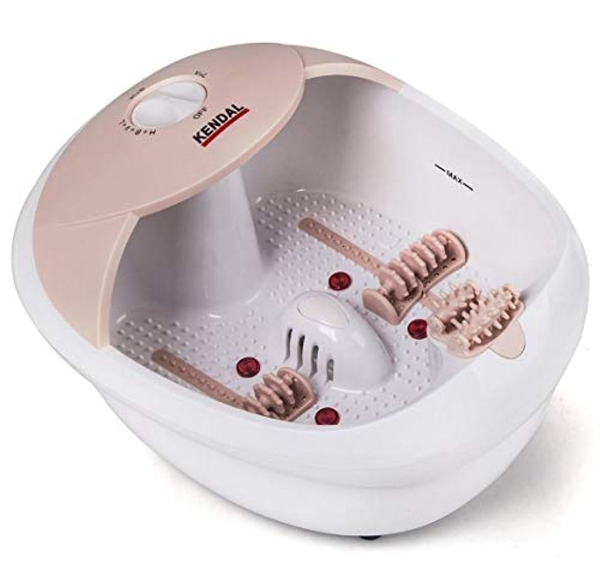 回る合わせて最愛の[Kendal] [フットスパバスマッサージャー All in one foot spa bath massager w/heat, HF vibration, O2 bubbles red light FB10] (並行輸入品)
