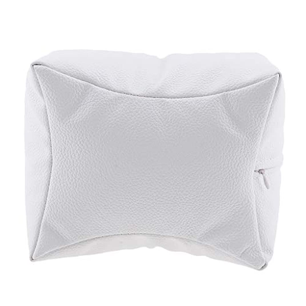 すみません悪行洞窟ネイルアート 手枕 ハンドピロー レストピロー ハンドクッション ネイルサロン 4色選べ - 白