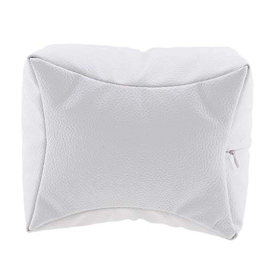 不正ぴったり泳ぐネイルアート 手枕 ハンドピロー レストピロー ハンドクッション ネイルサロン 4色選べ - 白