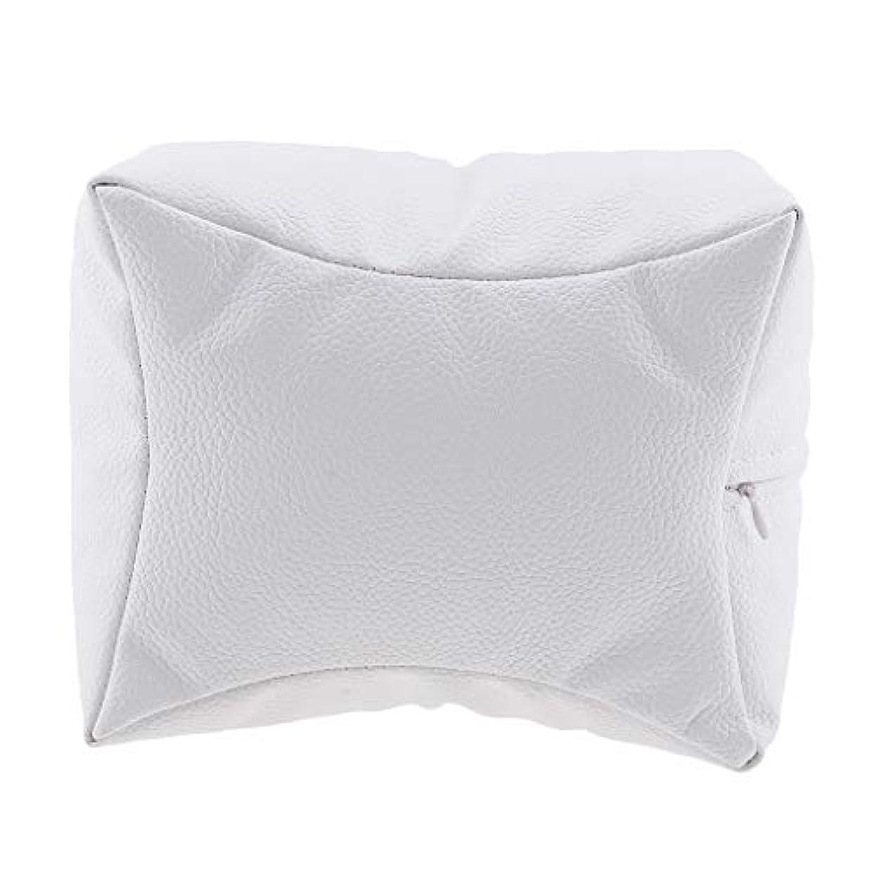 ネイルアート 手枕 ハンドピロー レストピロー ハンドクッション ネイルサロン 4色選べ - 白