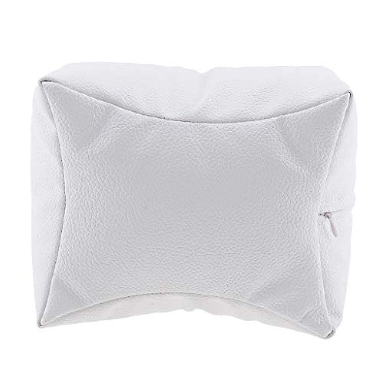 起業家筋肉の憂慮すべきネイルアート 手枕 ハンドピロー レストピロー ハンドクッション ネイルサロン 4色選べ - 白