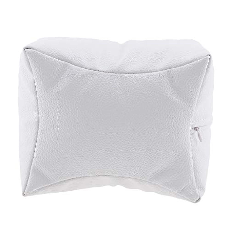 それぞれ蜂出版Sharplace ネイルアート 手枕 ハンドピロー レストピロー ハンドクッション ネイルサロン 4色選べ - 白